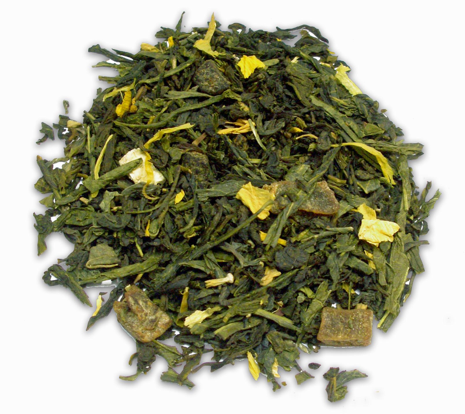 Ízesített zöld teák